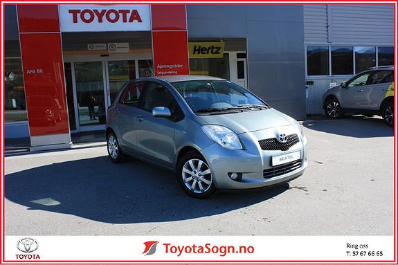 Toyota Yaris 1,3 VVTI Sol  Sprint  2008, 118500 km, kr 95000,-