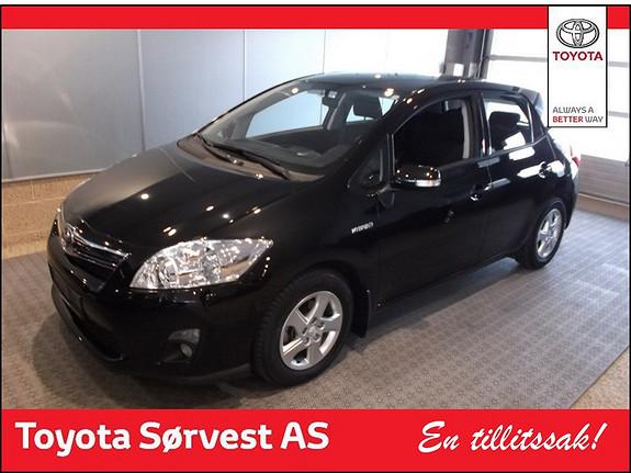 Toyota Auris 1,8 Hybrid Advance HSD  2012, 51900 km, kr 209000,-