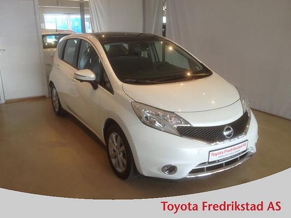 Nissan Note 1,2 80hk Acenta MEGET PEN; KUN KJØRT 5.500 KM, NAVI, GLASSTAK  2013, 5500 km, kr 179000,-