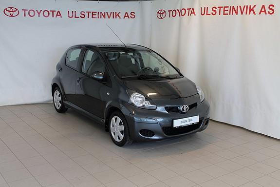 Toyota Aygo 1,0 + 5-d  2012, 20000 km, kr 115000,-