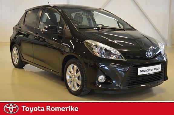 Toyota Yaris 1,5 Hybrid Style e-CVT  2013, 44100 km, kr 184900,-