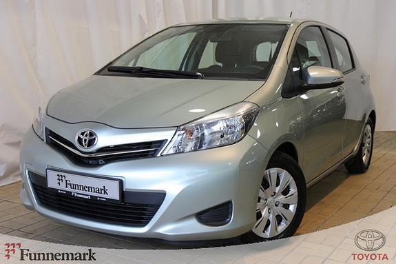 Toyota Yaris 1,0 Active  2012, 29454 km, kr 149000,-