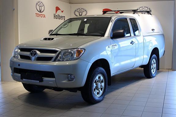 Toyota HiLux D-4D 120hk D-Cab 4wd - én eier, ny reg.reim, kingtop  2008, 152300 km, kr 189000,-