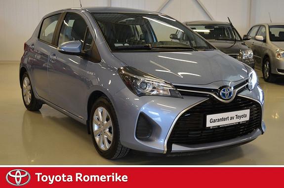 Toyota Yaris 1,5 Hybrid Active e-CVT  2014, 8700 km, kr 204900,-