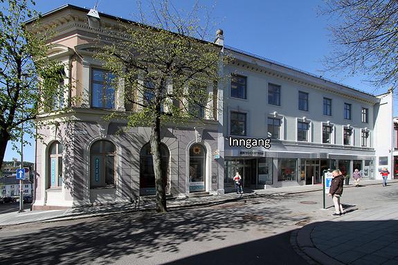 Flott butikk/kontor til leie i Storgaten 24, Tønsberg