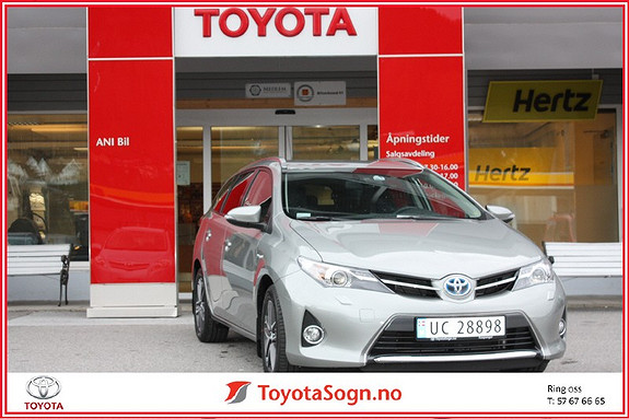 Toyota Auris 1.8 Touring Sport Active + Hybrid  2014, 9000 km, kr 299000,-