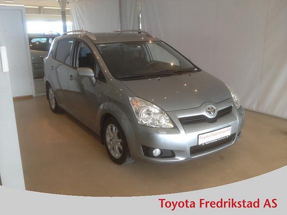 Toyota Corolla Verso 2,2 D-4D Sol City 7 seter PEN 7-SETER, KUN KJØRT 69 500 KM, KLIMA, CRUISE.  2008, 69500 km, kr 159000,-