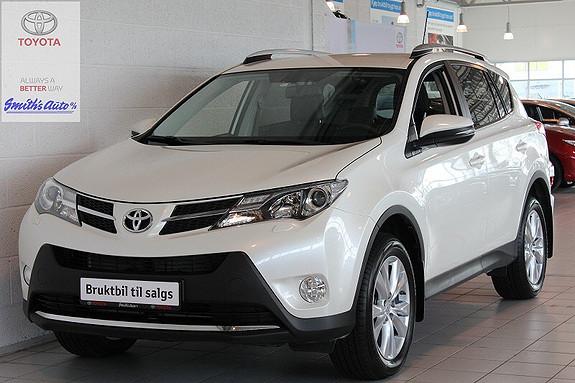 Toyota RAV4 EXECUTIVE 2,0 DIESEL  2014, 13000 km, kr 399000,-