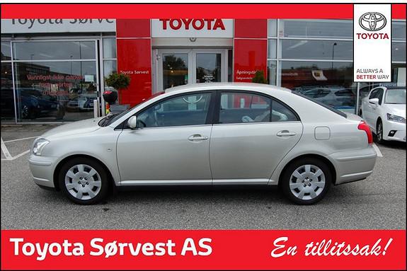 Toyota Avensis 1,6 Business  2004, 88500 km, kr 99000,-