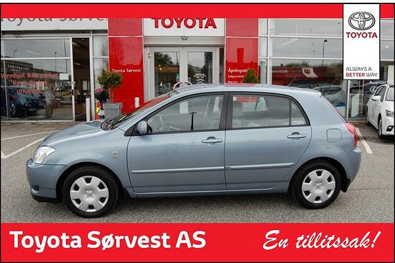 Toyota Corolla 110hk Sol  2004, 103000 km, kr 79000,-
