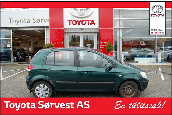 Hyundai Getz 1,3 GLS  2005, 157700 km, kr 29000,-