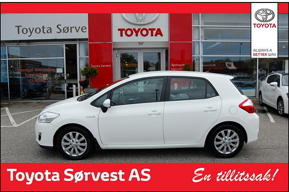 Toyota Auris 1,8 Hybrid Advance HSD  2012, 21150 km, kr 199000,-