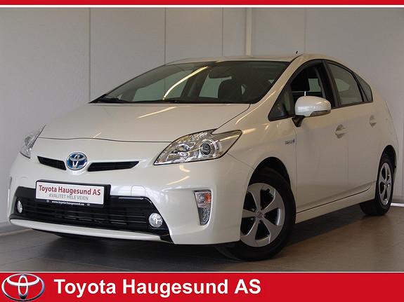 Toyota Prius 1,8 VVT-i Hybrid Comfort Navi, ryggekamera, HeadUp Display - Strøken, norsksolgt.  2013, 25200 km, kr 229000,-