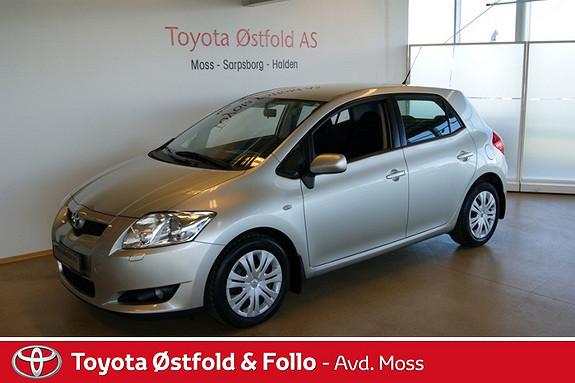 Toyota Auris 1,4 D-4D Sol MM  2007, 58441 km, kr 123000,-