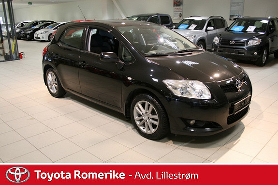 Toyota Auris 1,6 VVT-i Sol  2008, 97200 km, kr 129000,-