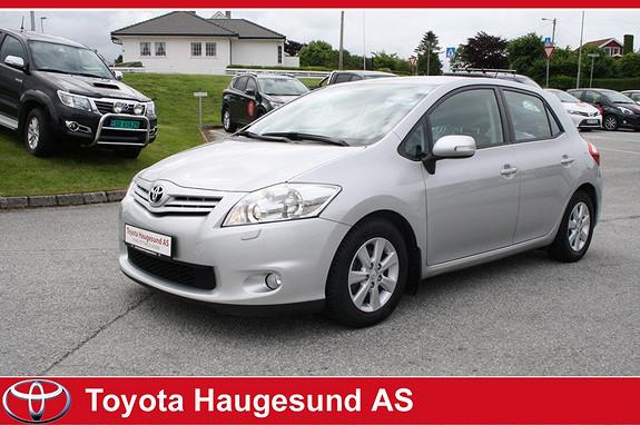 Toyota Auris 1,4 D-4D (DPF) Advance Autoklima, meget driftssikker - Norsksolgt bil - GARANTI  2012, 36400 km, kr 165000,-
