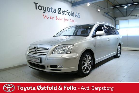 Toyota Avensis 1,8 Sol aut VSC  2005, 134000 km, kr 105000,-