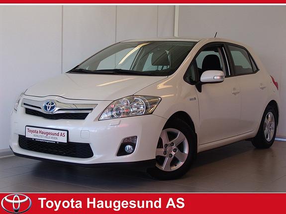Toyota Auris 1,8 Hybrid Advance HSD Navi, ryggekamera, Bluetooth, ++  Norsksolgt bil, 1 eier  2012, 43692 km, kr 199000,-