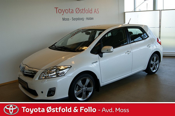 Toyota Auris 1,8 Hybrid Executive HSD  2012, 36000 km, kr 209000,-