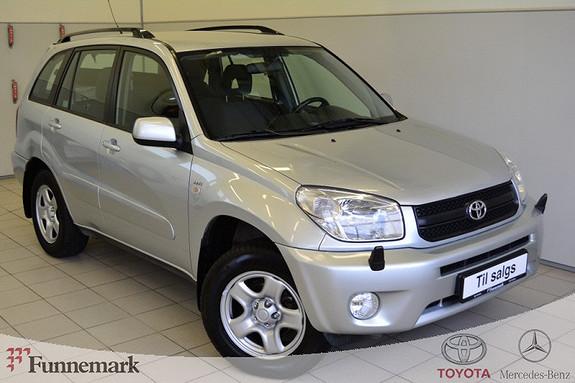 Toyota RAV4 2,0 4wd aut 5-dørs V-VTI.Velholdt med komplett service. avtag hengerfeste.  2005, 138000 km, kr 123000,-