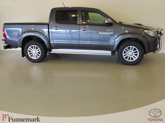 Toyota HiLux 3.0-171HK D-4D 4WD D-CAB SR+ AUTOMAT/SKINN/RYGGEKAMERA/++ (MYE UTSTYR!)  2014, 13000 km, kr 415000,-