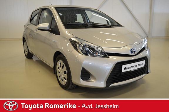 Toyota Yaris 1,5 Hybrid Active  2013, 17200 km, kr 194500,-