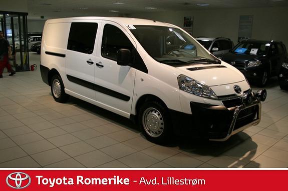 Toyota Proace 2,0 163hk L1H1 aut.  2012, 24808 km, kr 239000,-