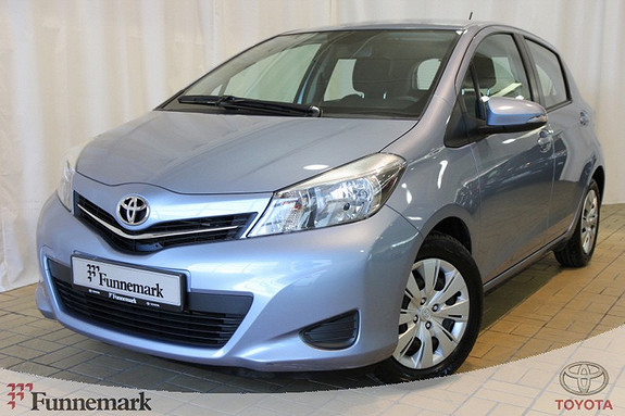 Toyota Yaris 1,0 Active  2012, 50203 km, kr 139000,-