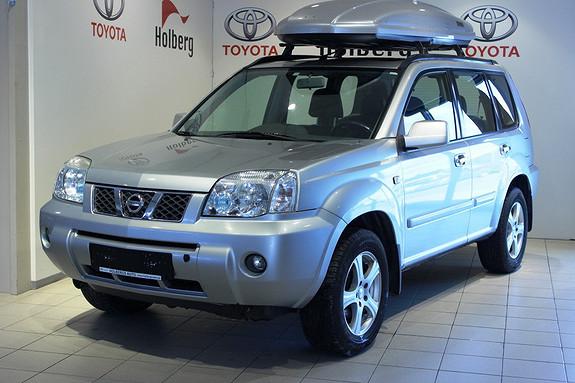 Nissan X-Trail 2,2 DCI Elegance ESP - panorama, skinn, servicehistorikk  2004, 157000 km, kr 95000,-