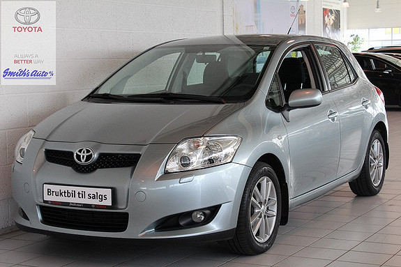Toyota Auris 1.4 SOL BLUE AUTOMATGIR (MMT)  2009, 89900 km, kr 129000,-