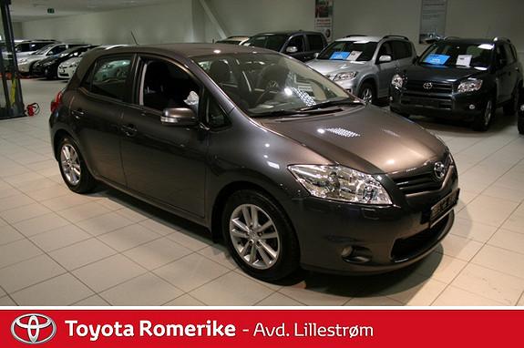 Toyota Auris 1,33 Dual VVT-i  Silver-Edition  2012, 23870 km, kr 175000,-