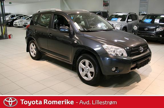 Toyota RAV4 2,2 D-4D 136hk  2007, 153803 km, kr 165000,-