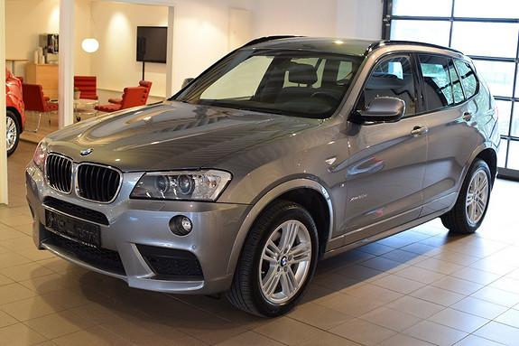 BMW X3 xDrive20d 163hk Automat M-Sport, DAB, Navi, h.feste +++  2014, 35700 km, kr 579000,-