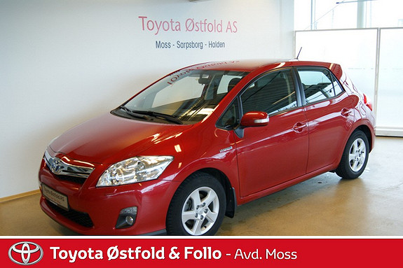 Toyota Auris 1,8 Hybrid Advance HSD  2012, 39364 km, kr 199000,-