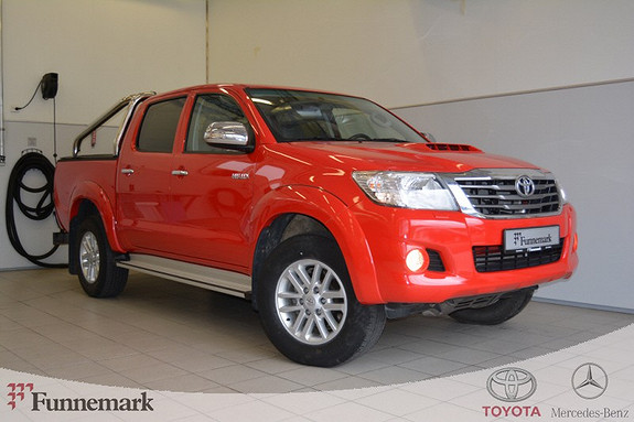 Toyota HiLux D-4D 171hk D-Cab Aut 4wd SR+ Skinnint, veltebøyle, plancover, wortex, VELHOLDT++  2012, 35000 km, kr 339000,-