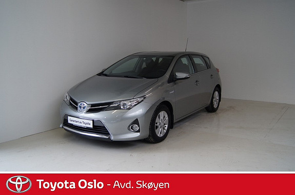 Toyota Auris 1,8 Hybrid E-CVT Active  2013, 25300 km, kr 215900,-