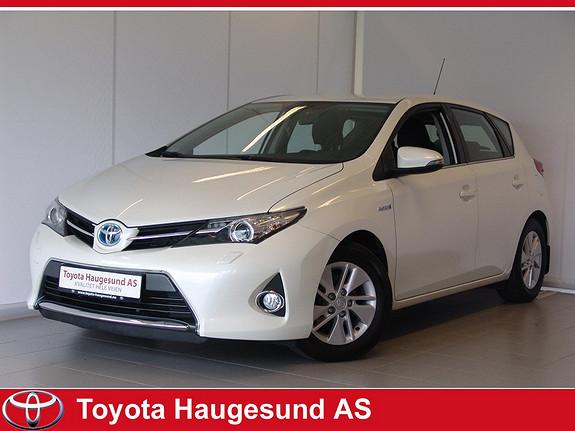 Toyota Auris 1,8 Hybrid E-CVT Active Navigasjon, Bluetooth, ryggekamera, norsk bil - GARANTI  2013, 25166 km, kr 239000,-