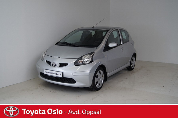 Toyota Aygo 1,0 + 5-d  2007, 70973 km, kr 75000,-