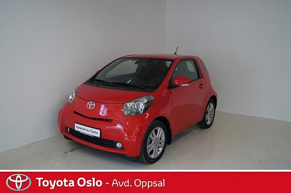 Toyota IQ 1,33 Dual VVT-i 6MT iQ3  2010, 32222 km, kr 110000,-