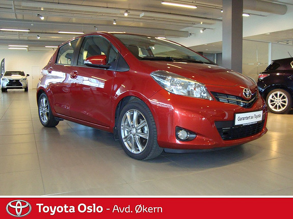 Toyota Yaris 1,4 D-4D Style Navikampanje  2012, 19100 km, kr 159000,-
