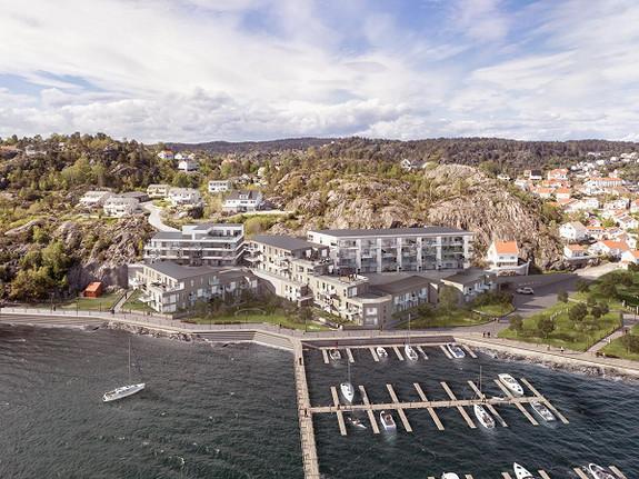 Risør / Flisvika Brygge - Tomtevisning onsdag 06 januar Kl. 1700-2000. Velkommen!