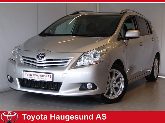Toyota Verso 2,0 D-4D Advance 7 seter Navigasjon, ryggekamera - Norsk bil - GARANTI  2012, 74133 km, kr 269000,-