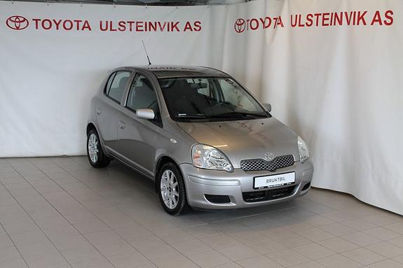 Toyota Yaris 1,3 Sol  2004, 99000 km, kr 65000,-