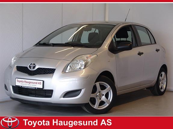 Toyota Yaris 1,0 Aircondition, hel og pen  2010, 51766 km, kr 105000,-