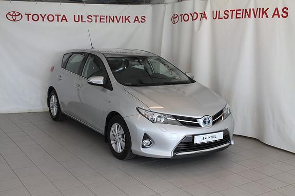 Toyota Auris 1,8 Hybrid E-CVT Active Go navi  2013, 14000 km, kr 249000,-