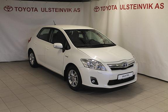 Toyota Auris 1,8 Hybrid Advance HSD  2012, 58000 km, kr 179000,-