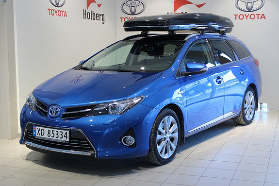 Toyota Auris Touring Sports 1,8 Hybrid Executive - xenon, navi, skyview  2014, 21 000 km, kr 295 000,-