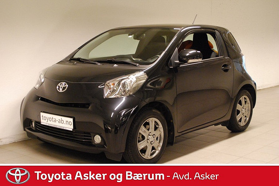 Toyota IQ 1,0 VVT-i iQ2 KAMPANJERENTE 2,95%  2012, 20600 km, kr 125000,-