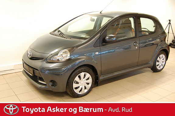 Toyota Aygo 1,0 + 5-d  2013, 9900 km, kr 119000,-