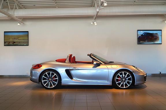 Porsche Boxster PDK Norges flotteste / Velutstyrt!  2014, 12500 km, kr 769000,-